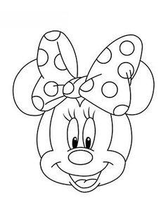 jak narysować Myszkę Minnie 16