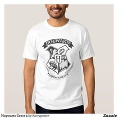 Hogwarts Crest  #Harry #Potter #Tshirt