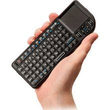 So cool> ProMini Wireless Keyboard with Trackpad http://www.thinkgeek.com/computing/keyboards-mice/e0e7/#tabs