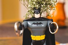 batman with wedding rings, superhero wedding, Knoxville wedding photographer  http://www.JoPhotoOnline.com/blog