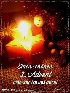 sch nen 1 advent w nschen advent advent bilder advent. Black Bedroom Furniture Sets. Home Design Ideas