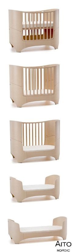 Leander baby bed/lettino  5 beds in 1/5 letti in 1