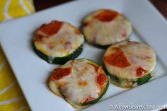 Zucchini Pizza Bites-4