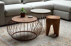 Afbeeldingsresultaat voor koperen salontafel