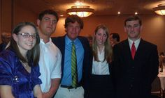 University of Oregon College Republicans with Tucker Carlson at Lane County Lincoln Day Dinner #UniversityofOregon #CollegeRepublicans #TuckerCarlson #LaneCounty #LincolnDayDinner