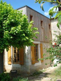 Extension en bois d'une maison de ville à Niort (79)