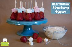StarMallowStrawberryDippers by TheMarshmallowStudio