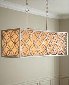 pinterest rectangular lamps - Google Search