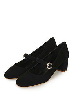 JONNO Suede Maryjane Shoes - New In This Week - New In - Topshop Europe
