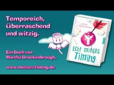 ▶ Neu: Echt mieses Timing von Martha Brockenbrough   Buchtrailer NEU 2014 - YouTube