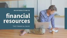 Finance blog modern video template for financial resources