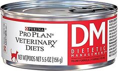 Cat Food 63073: Purina Veterinary Diets Feline Dm Dietetic Management Canned Cat Food 24 5.5-Oz -> BUY IT NOW ONLY: $68.57 on eBay!