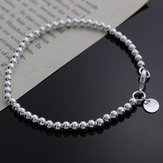 Cheap jewelry pendant, Buy Quality jewelry lamp directly from China jewelry stock Suppliers: Beautiful fashion Elegant silver plated beads chain women lady cute hot Bracelet high quality Gorgeous jewelry Cute Bracelets, Silver Bracelets, Fashion Bracelets, Bangle Bracelets, Link Bracelets, Bracelet Gift Box, Color Dorado, Color Plata, Cheap Jewelry