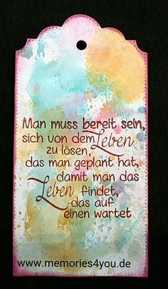 Tag mit #Crealies Stanze, #DistressInk und #Efco Stempel  #www.memories4you.de