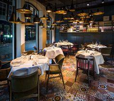 Stunning interior new Bistro Twee33 @ Dordrecht