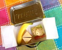 Doll Lunch Box from a Mint Tin via Inner Child Fun