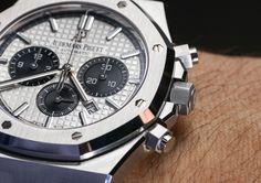 Audemars Piguet Royal Oak Chronograph Watch In Steel