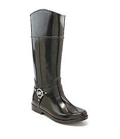 I needed these yesterday! ☔☔ MICHAEL Michael Kors rain boots