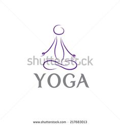 Yoga Logo Stock Photos, Images, & Pictures | Shutterstock