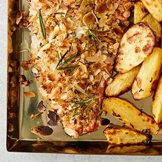 Feta, Cauliflower, Good Food, Food And Drink, Chicken, Vegetables, Cauliflowers, Vegetable Recipes, Cucumber