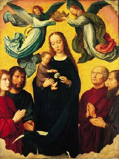 The Coronation of the Virgin, Gerard David,  1515, Norton Simon Museum of Art Collection
