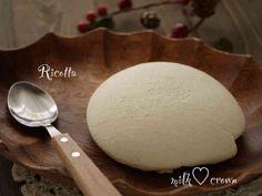 ヨーグルトと牛乳でリコッタチーズの画像