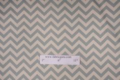 "4x6"" $1 Sample of Premier Prints Printed Cotton Drapery Fabric Zig Zag Village in Natural / Blue $7.95 per yard"