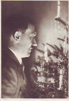 Uncle Adolf with Christmas tree
