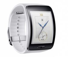 Gear S allows user to enjoy real freedom by delivering smart mobile experience without a smartphone in hand. Samsung Gear White in UAE. Cheap Price for Samsung Gear S Blue White in Dubai. Android Wear, Mobiles, Wi Fi, Latest Smartwatch, Samsung Gear S, Samsung Mobile, Wearable Technology, Futuristic Technology, Technology Gadgets