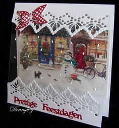 Voorbeeldkaart - Kerst - Categorie: Kerstkaarten - Hobbyjournaal uw hobby website