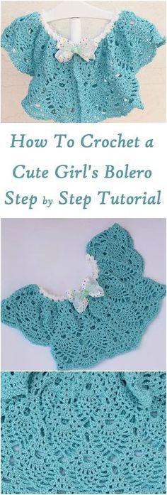 Crochet Girl's Bolero