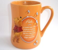 Winnie The Pooh Mug, Winnie The Pooh Pictures, Winne The Pooh, Pooh Bear, Cute Coffee Cups, Cute Mugs, Eeyore, Tigger, Disney Coffee Mugs