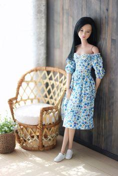Sewing Barbie Clothes, Barbie Dolls Diy, Barbie Fashionista Dolls, Barbie Dress, Dolls Dolls, Girl Dolls, Barbie Style, Barbie Model, Barbie Tumblr