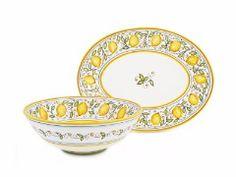 Limoni serveware by Fima