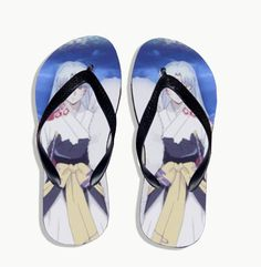 Vicwin-One Inuyasha Sesshoumaru Summer Shoes Slippers Custom Cosplay (Size:US 8) * Read more reviews of the product by visiting the link on the image.