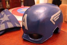 Csináld Magad - Amerika Kapitány jelmez - SZMK - DIY MARVEL Captain America Helmet Shield T-shirt Costume