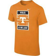 Boys 8-20 Nike Tennessee Volunteers Football Tee, Size: XL 18-20, Orange
