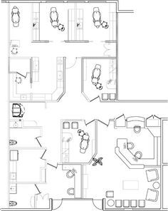 Office floor plan office floor and floor plans on pinterest for 1200 square foot office plans