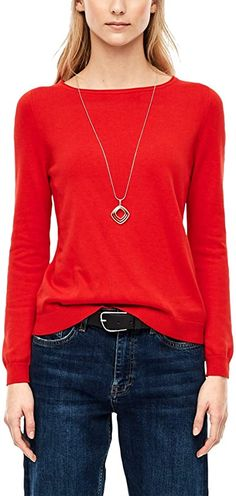 Toller Pulli  Bekleidung, Damen, Pullover & Strickjacken, Pullover Blouse, Long Sleeve, Sleeves, Sweaters, Tops, Fashion, Sweater Cardigan, Summer, Clothing