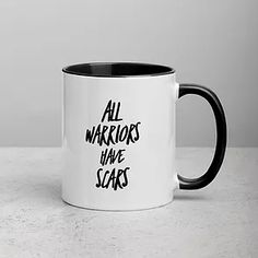 Wxmen's Clothing & Accessories | EMPOWERHAUS by Emily Hopper Breast Cancer Survivor, Breast Cancer Awareness, Mental Health Matters, White Ceramics, Coffee Mugs, Clothing Accessories, Warriors, Coffee Cups, Coffeecup