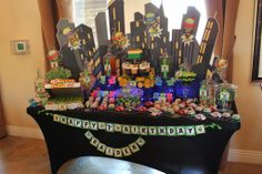 TMNT - Teenage Mutant Ninja Turtles Candy Table