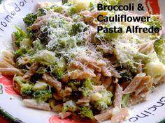 broccoli & cauliflower alfredo