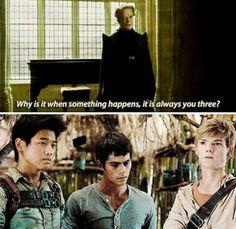 Harry Potter, Maze Runner mix
