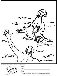 Resultado De Imagen De Dibujo Nio Deporte Colorear