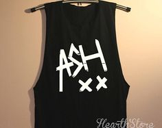 5SOS Ashton Irwin Shirt 5 Seconds of Summer Shirts Muscle Tee Muscle Tank Top TShirt Unisex - size S M L
