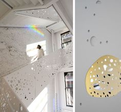 Steven Holl Architects, Department of Philosophy building at New York University, via @Chloé Douglas.
