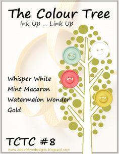 addINKtive designs: The Colour Tree Challenge #8
