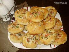 Cesnakový posúch so slaninkou Muffin, Cooking, Breakfast, Ale, Basket, Kitchen, Morning Coffee, Ale Beer, Muffins