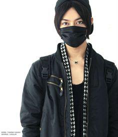 B.M Black Surgical Face Mask (2 x 5 masks)
