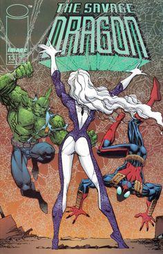savage dragon #13 image comics cover